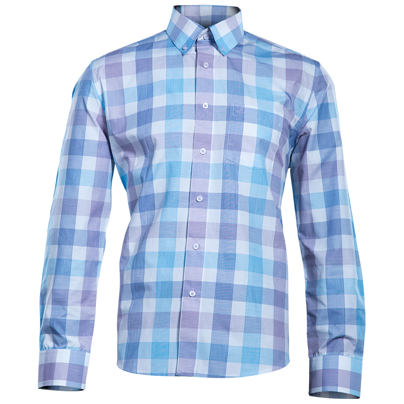 Brentwood - PASTEL GINGHAM LS SHIRT